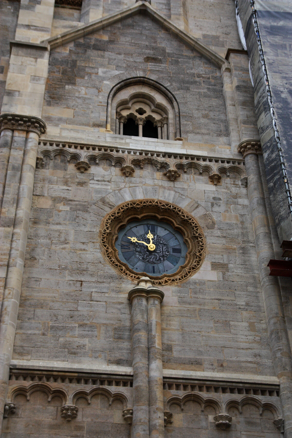 clock on Stephen's Cathedral